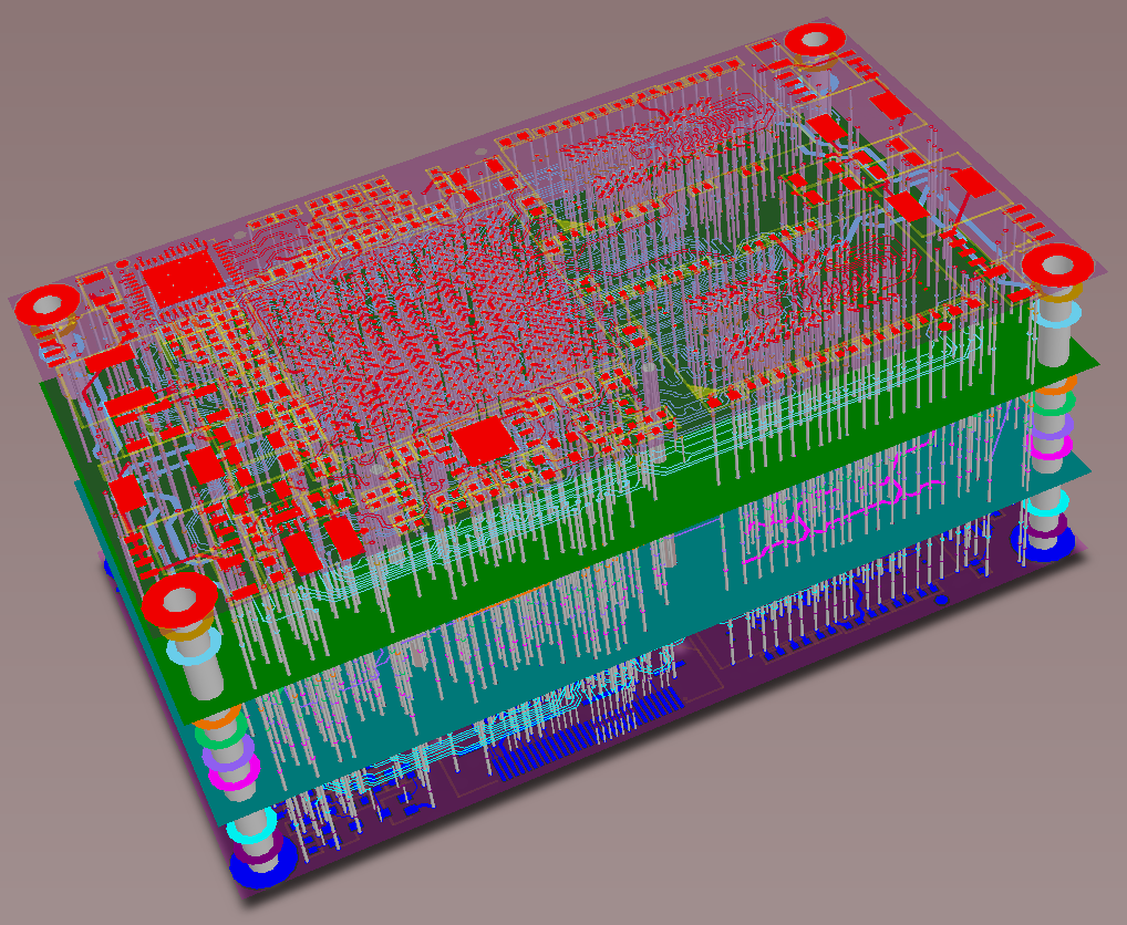 PCB stackup screenshot