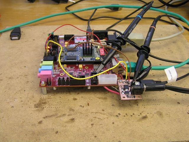 Testing Power Input with iMX6 Rex