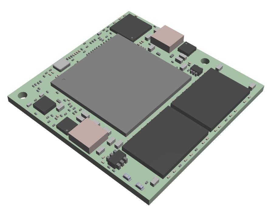iMX6 TinyRex Module - 3D