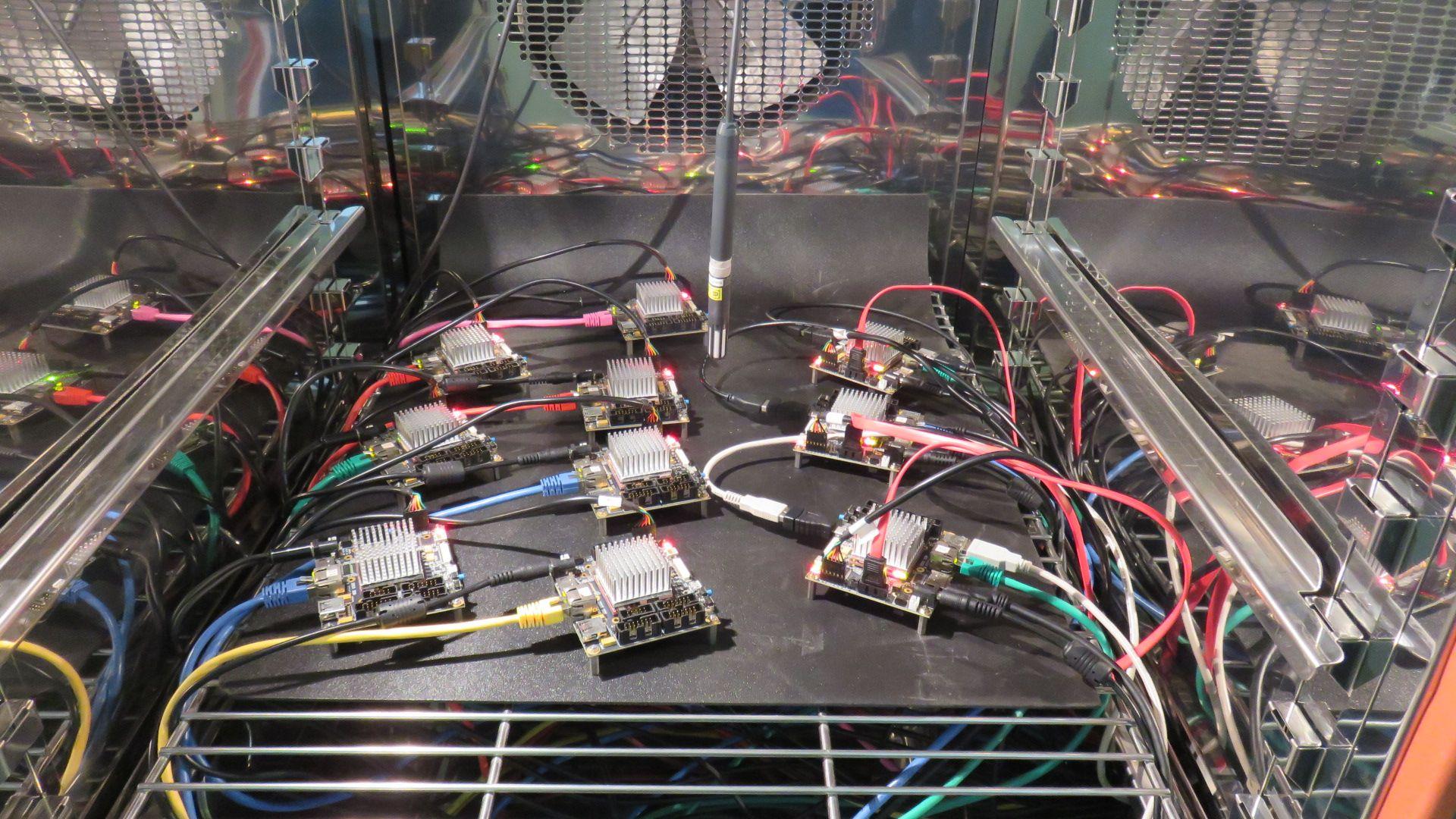 iMX6 TinyRex Testing in an Environmental chamber - iMX6 Rex
