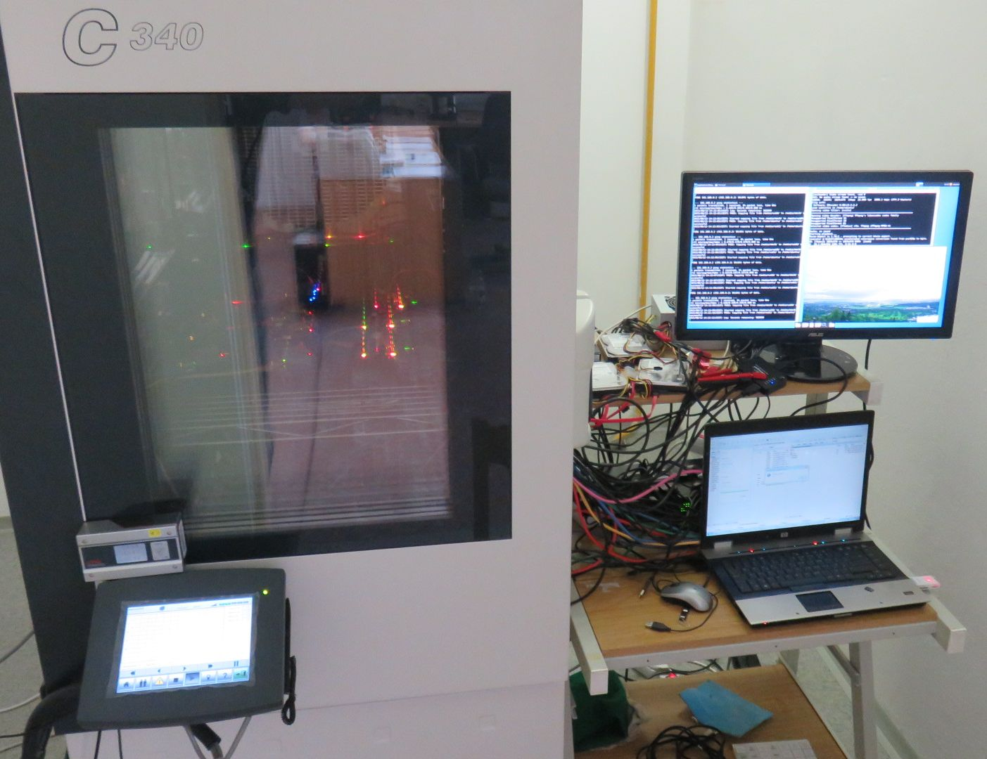iMX6 Tiny Rex Environmental Chamber Testing - Setup