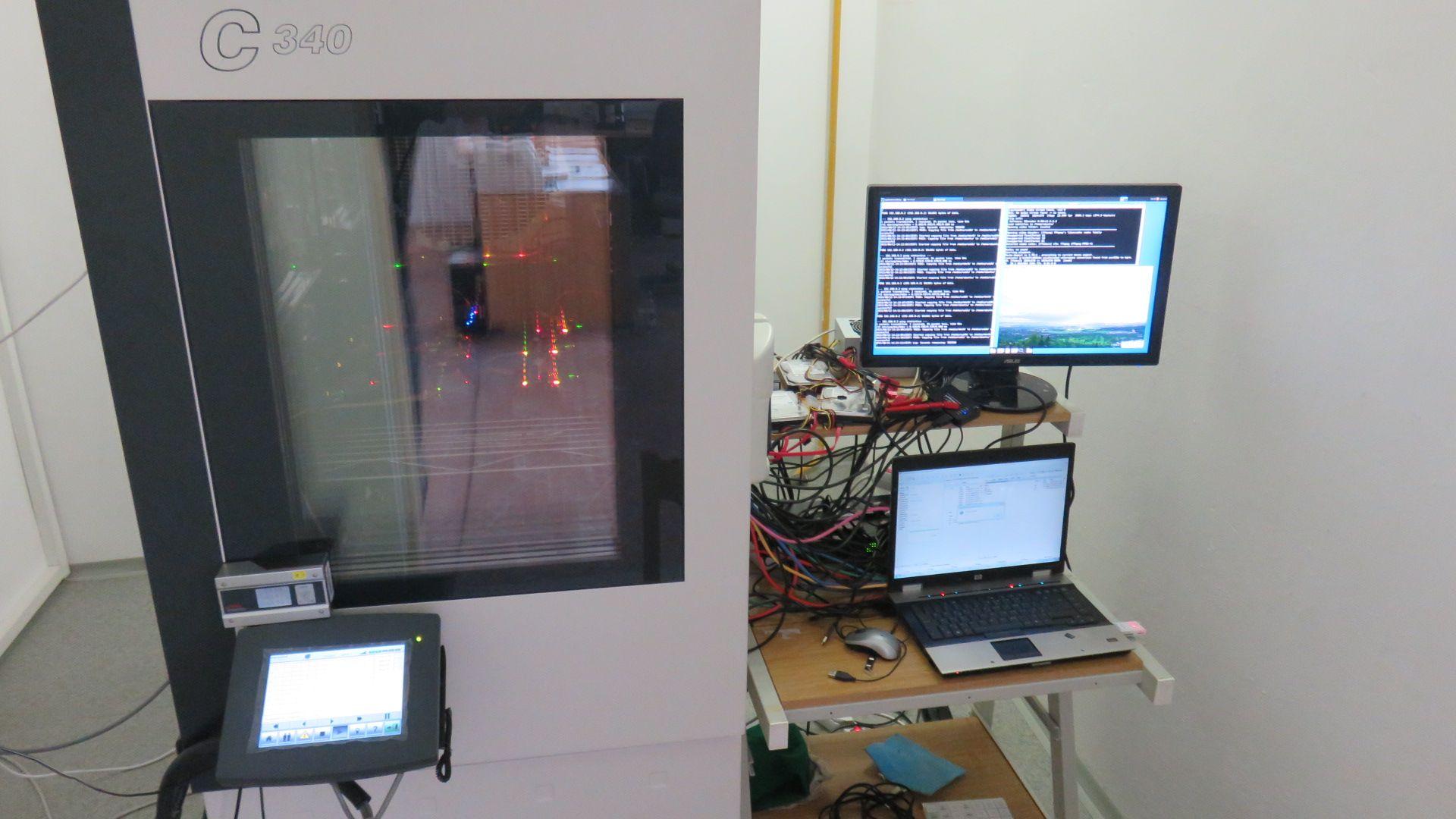 iMX6 Tiny Rex Environmental Chamber Testing Setup