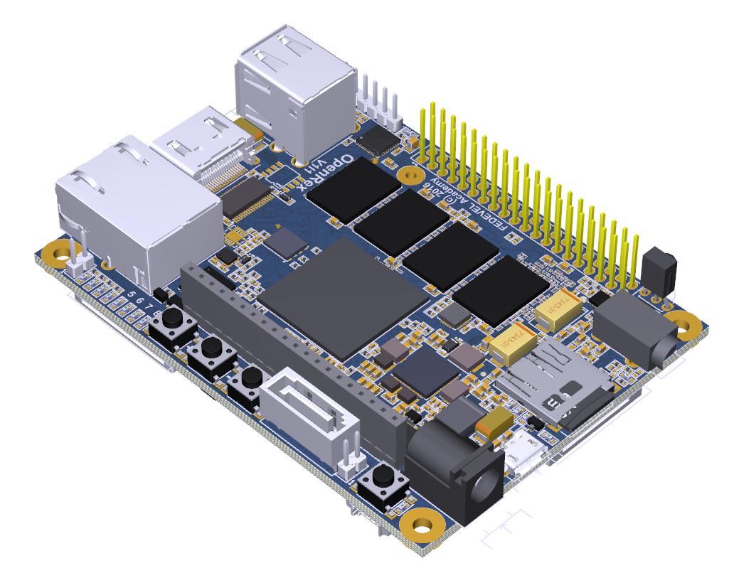 OpenRex - 3D picture