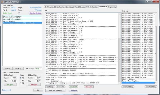 PMIC GUI Application