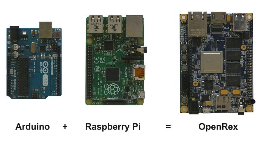 Arduino Raspberry Pi OpenRex - white background 840px