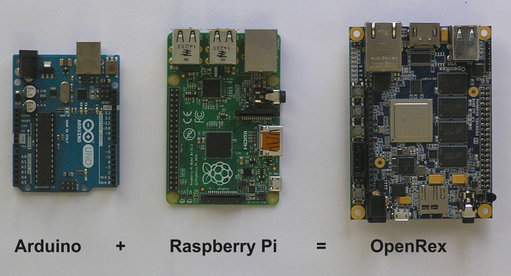 Arduino Raspberry Pi OpenRex