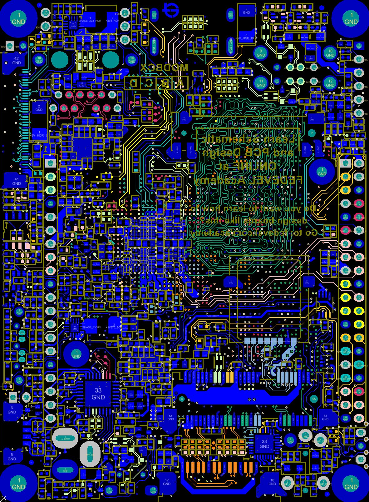 Openrex Open Source Hardware Project Imx6 Rex Projects Electronic Circuit Diagram With Pcb Layout Click To Enlarge