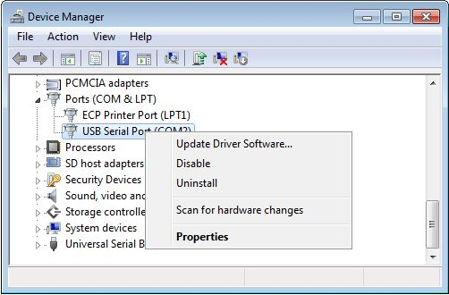 Enviromental-chamber-setup-Control-PC-COM-Port-Properties