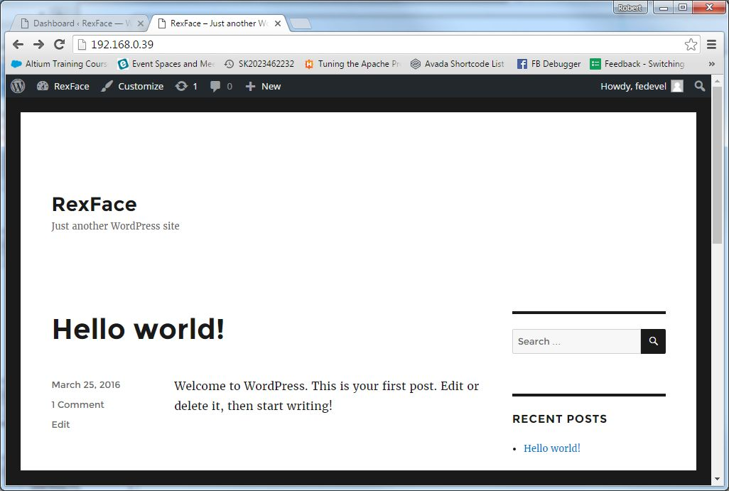 Wordpress on iMX6